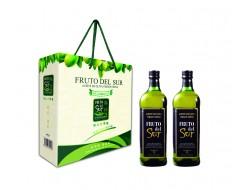 福仕特级初榨橄榄油1升*2礼盒装